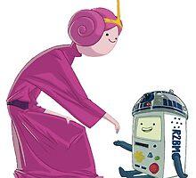 Adventure Time - Star Wars by NiroStreetLourd