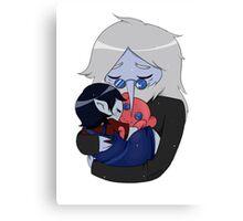 Marceline & Ice King Canvas Print