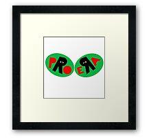 PRO ERA JOEY BADASS B4DA$$ KIRK Framed Print