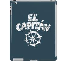 El Capitán Wheel Vintage White iPad Case/Skin