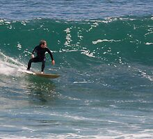 Catching a Wave by Mark Jones