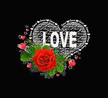 Love heart by Vitalia