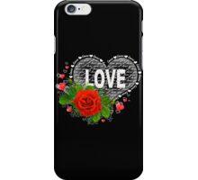 Love heart iPhone Case/Skin