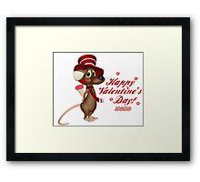 Happy Valentine's Day! Framed Print
