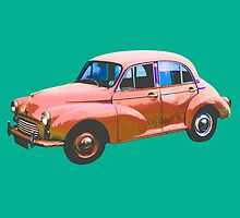 Old colorful car by bvshirts