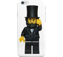 LEGO Abraham Lincoln iPhone Case/Skin