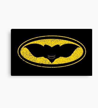 Gotham Gremlin (distressed) Canvas Print