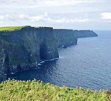 Cliffs of Moher - Ireland by Arie Koene