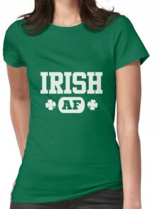 Irish AF Womens Fitted T-Shirt