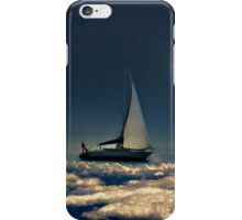 Navigating Trough Clouds Dreamy Collage Photography iPhone Case/Skin