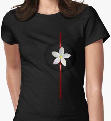 Frangipani Womens Fitted T-Shirt