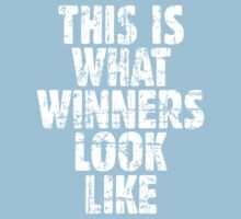 THIS IS WHAT WINNERS LOOK LIKE (Vintage White) Kids Clothes