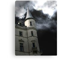 Halloween Turret Canvas Print