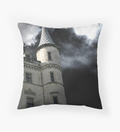 Halloween Turret Throw Pillow