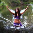 Splashing Fairy by Karin  Hildebrand Lau