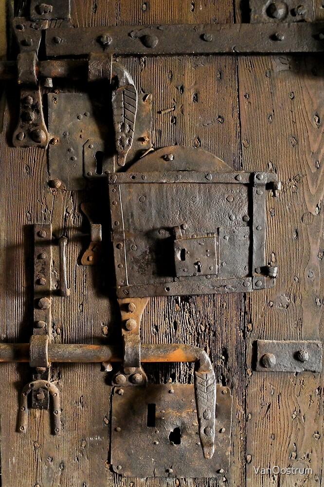 Locked door by VanOostrum