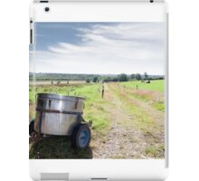 small milk transporter iPad Case/Skin