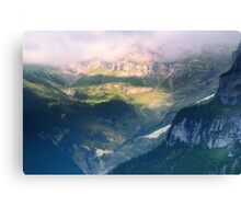 Somewhere in Middle-earth Canvas Print