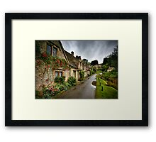 Arlington Row, Cotswalds Framed Print