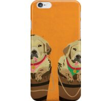 Illustration of Dogs iPhone Case/Skin