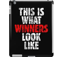 THIS IS WHAT WINNERS LOOK LIKE (Vintage White/Red) iPad Case/Skin