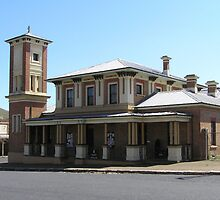 The Court House, Carcoar, NSW by Jan Richardson