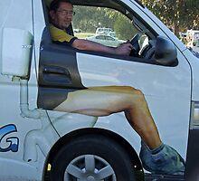 Local Plumbers Van by SharonD