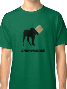 Anonymoose the Anonymous Moose Classic T-Shirt