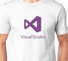 Visual Studio 2012 Logo (Purple) Unisex T-Shirt