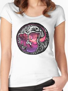 Tribal Mew Women's Fitted Scoop T-Shirt