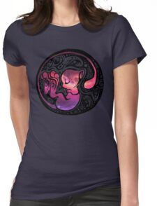 Tribal Mew Womens Fitted T-Shirt
