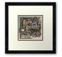 John Mayer Born Raise Framed Print
