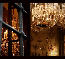 Chandelier Shop, Florence by Laura Johnson