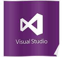 Visual Studio 2012 Logo Poster