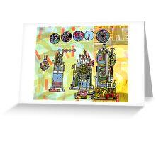 Cityguide t-shirt Greeting Card