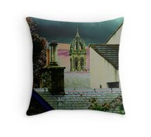 Peebles Rooftops Throw Pillow
