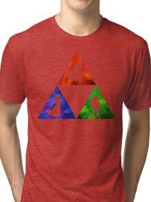 Courage, Wisdom, Power  Tri-blend T-Shirt