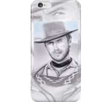Clint Eastwood miniature iPhone Case/Skin