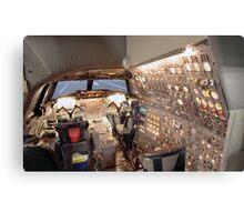 Concorde Flight Engineers panel Metal Print