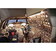 Concorde Flight Engineers panel Photographic Print