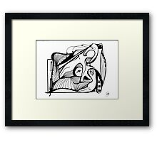 Abstract Moments 30 Framed Print