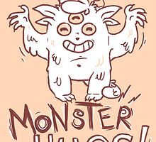 Monster Hugs! by Nikita Horridge