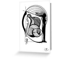Abstract Moments 35 Greeting Card