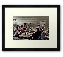The Bingo Gang Framed Print