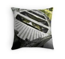 Lonely Vessel, Peterhof, Russia. Throw Pillow