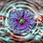 Liquid Flower III by EbelArt