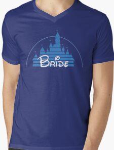 Disney Bride Mens V-Neck T-Shirt