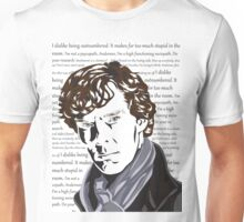 Thoughts of Sherlock Holmes Unisex T-Shirt