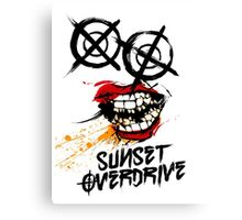 Sunset Overdrive Chemical Smile Canvas Print