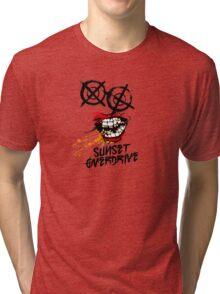 Sunset Overdrive Chemical Smile Tri-blend T-Shirt